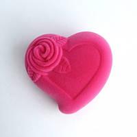 Футляр бархатный сердце
