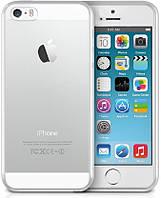 Чехол REMAX iPhone 5/5s/SE, Ультратонкий прозрачный силикон