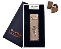 """Спиральная USB зажигалка """"Парусник"""" №4793-3, двухсторонняя спираль, отличный подарок, компактная"""