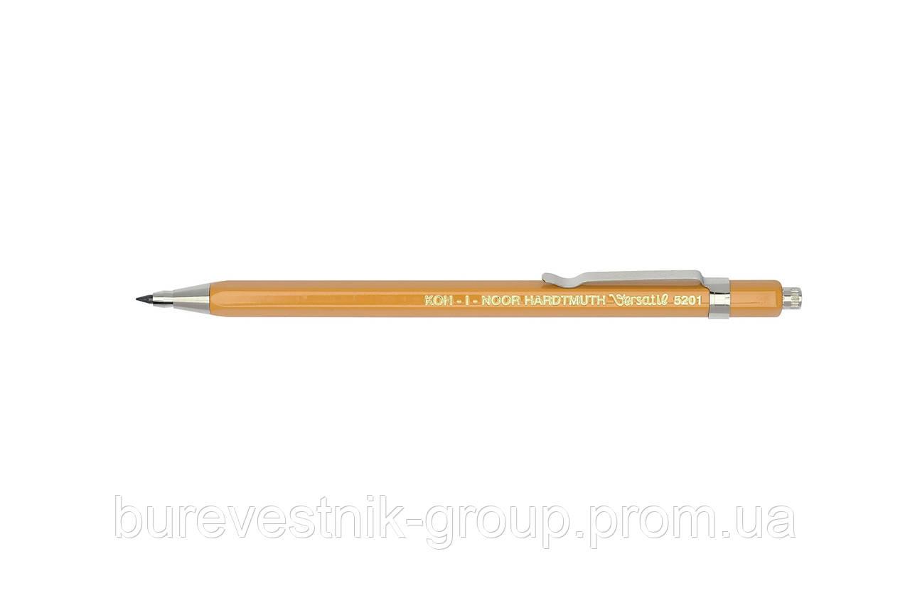 """Механический цанговый карандаш ( MECHANICAL CLUTCH LEADHOLDER ) KOH-I-NOOR """" Versatil """" 5201 , 2мм"""