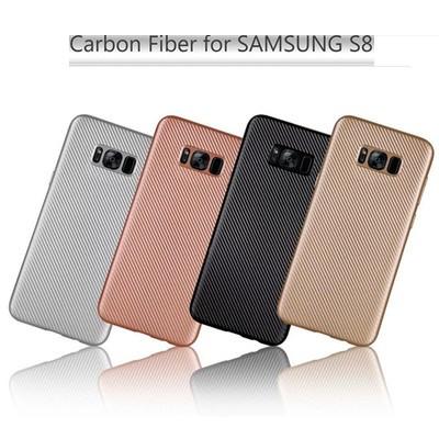 """Samsung G950F S8 ПРОТИВОУДАРНЫЙ чехол оригинальный бампер панель иск КАРБОНОВАЯ вставка """"C FIBE"""""""