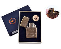 """Спиральная USB-зажигалка """"Тигр"""" №4801-1, прекрасный подарок другу, коллегам, подарочная коробка, модный девайс"""