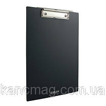 Планшет с зажимом А4 пластиковый D2510 черный