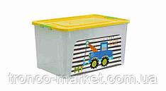 "Алеана Контейнер ""Smart Box"" с декором 40л. My car"