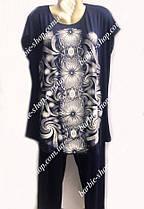 Домашний женский костюм капри и туника 8364