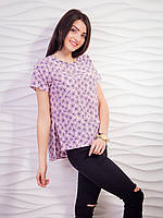 Летняя блуза свободного кроя