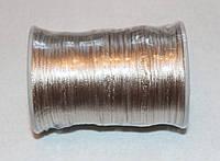 Атласный шнур 2,5 мм светло-бежевый 20283, фото 1