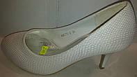 Туфли женские белые р36 PRINCESS 8070-2 SADI