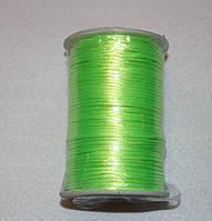 Атласний шнур 2,5 мм салатовий 20284, фото 1