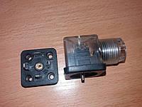 Соединитель электрический типа СЭ11-19 со светодиодом и клемной колодкой