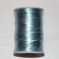 Атласный шнур 2,5 мм голубой 20285, фото 1
