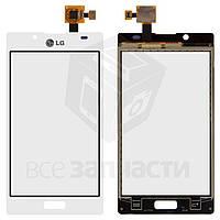 Сенсорный экран для мобильных телефонов LG P705 Optimus L7, белый