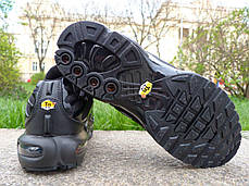 Мужские кроссовки Nike Air Max TN+ Full Black топ реплика, фото 3