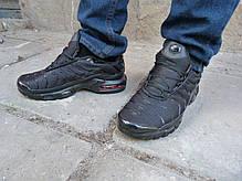 Мужские кроссовки Nike Air Max TN+ Full Black топ реплика, фото 2