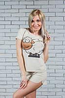 Пижама женская с шортами