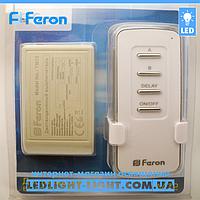 Дистанционный выключатель с пультом Feron TM72 на 2 канала