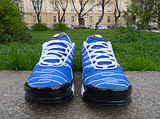 Мужские кроссовки Nike Air Max TN+ Blue\White\Black топ реплика, фото 3