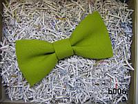 Галстук-бабочка, салатовый