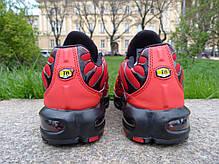 Мужские кроссовки Nike Air Max TN+ Red\Black топ реплика, фото 3