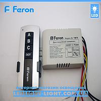 Дистанционный выключатель с пультом Feron TM 76 на 3 канала.