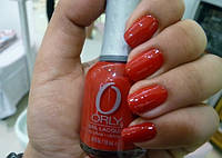 ORLY лак для ногтей №40615 down right red 18 ml.