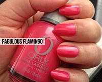 ORLY лак для ногтей №40625 fabulous flamingo 18 ml.