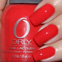 ORLY лак для ногтей №40627 precisely poppy 18 ml.