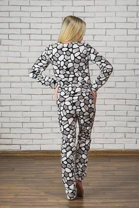 Махровая пижама женская, фото 2