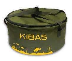 Відро для підгодовування 40 см Kibas з кришкою велике