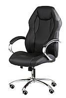 Кресло для руководителя Кресло Cross black, фото 1