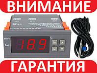 Терморегулятор термостат цифровой MH1210 W, 220В с выносным датчиком
