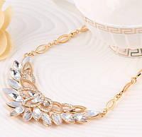1077 - Бижутерия набор украшений серьги и ожерелье