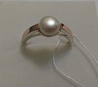 Кольцо из серебра и золота Шабо