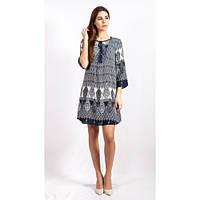 Женское оригинальное платье 17-2027