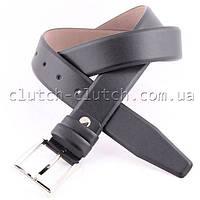 Ремень для брюк LMi 35 мм эко кожа черный