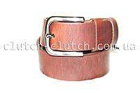 Ремень для джинсов LMi 35 мм рыжий