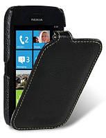 Кожаный чехол Melkco для Nokia Lumia 710 черный