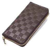 Мужской кошелек Louis Vuitton 10482 коричневый