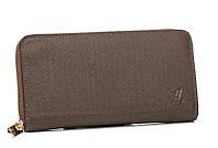 Мужской кошелек Louis Vuitton 10483 коричневый