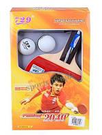 Набор для настольного тенниса/пинг-понга 729 Friendship № 2040: ракетка+чехол+2 мячика