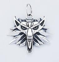 Серебряный медальон Ведьмак (Witcher)