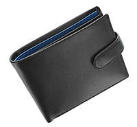 Мужское портмоне Visconti PM100 Vincent черное с синим