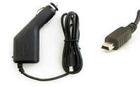 Автомобильная зарядка на планшет и GPS навигатор miniUSB (5V, 2A)
