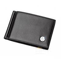 Бумажник с зажимом  для денег GUCCI GDZ-7006 черный