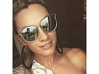 Модные зеркальные солнцезащитные очки Christian Dior Sideral. Отличное качество. Удобные очки. Код: КДН1667