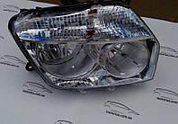 Фара правая H7+H1+PY21W+W5W эл. хром. Renault Duster 10-, фото 1