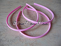 Заготовка для обруча пластиковая светло-розовая ширина 0,8 см