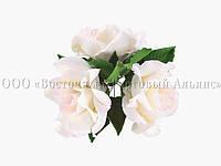 Букет из мастики - Букет роз БЕЛАЯ большой №1 - Ø160 мм