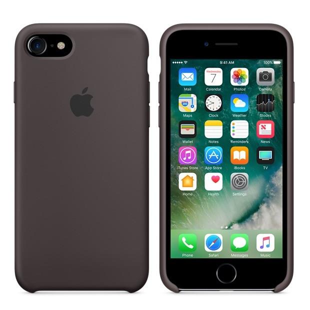 Силиконовый чехол Apple для iPhone 7/8