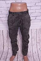 """Мужские джинсы-карго """"Iteno"""" камуфлированные(код 8578-5 )"""